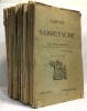 Carnet de la Sabretache - revue militaire rétrospective --- 20 numéros: du N°293 au N°301 puis du N°369 au N°379. Collectif