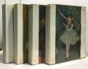 Degas  Rembrandt  Lautrec  Bosch --- le goût de notre temps --- 4 livres. Bosch  Lautrec  Rembrandt Degas