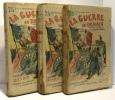 La guerre de demain --- tomes deux  six et sept --- illustrations de E. Yrondy - la guerre de forteresse --- 3 livres. Danrit Le Capitaine