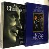 L'amour fort comme la mort: Une autobiographie + Moïse --- 2 livres. André Chouraqui