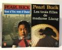 Vent D'est  Vent D'ouest + les trois filles de madame Liang -- 2 livres. Pearl Buck  Pearl Buck