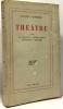 Théâtre III : la logeuse - opéra parlé - le ouallou - altanima. Audiberti Jacques