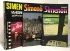 Maigret Au Picratt's + Le chien jaune + L'affaire Saint-Fiacre --- 3 livres. Georges Simenon