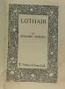 Lothair (texte en anglais). Disraeli Benjamin