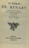 Le roman de Renart --- collection les grands maîtres. Foucault  Poulaille Paulin Paris