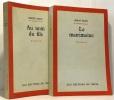 Au nom du fils + le matrimoine --- 2 livres. Bazin Hervé