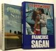 Les Faux Fuyants + La femme fardée --- 2 livres. Françoise Sagan
