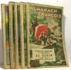 Almanach François - 5 années consécutives de 1933 à 1937. Collectif