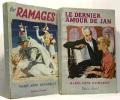 Les ramages + Le dernier amour de Jan --- 2 livres. Desmaret Marie-Anne