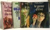 Le bruit solitaire du coeur + grandeur nature + le pain de l'étranger + le geste d'Eve --- 4 livres. Henri Troyat