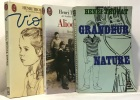 Viou + Aliocha + Grandeur nature --- 3 livres. Troyat Henri