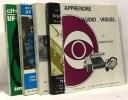 5 hors série consécutifs revue image et son  répertoires de films 68-69-70-71-72 + apprendre l'audio-visuel - le magnétoscope. Collectif