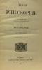 Leçons de philosophie - tome premier psychologie - 10e édition revue. Roustan D
