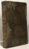 Oeuvres complètes de Mesdames de la Fayette de Tencin et de Fontaines - tome premier - avec des notices historiques et littéraires par M. Auger. Auger