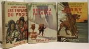 Belliou la fumée + Jerry dans l'île + Les enfants du frois --- 3 livres. London Jack