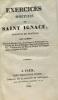 Exercices spirituels de Saint Ignace - traduits en Français par Clément. Saint Ignace
