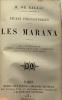 Etudes philosophiques: L'enfant maudit + Les marana --- 2 livres compilés dans un volume. Balzac Honoré (de)