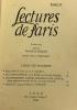 5 numéros de Lectures de Paris: Agnella Jérome et Jean Tharaud Le commandeur à la rose La dame de Cire Rachel Ambrière. Boissais (dirigé Par)