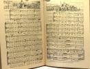 Le livre de musique + livret supplément. Augé Claude