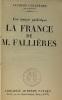 La France de M. Fallière - une époque pathétique. Chastenet Jacques