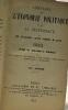 Annuaire de l'économie politique et de la statistique par Guillaumin  Garner Block 1883. Block Maurice