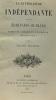 La littérature indépendante et les écrivains oubliés - essais de critique et d'érudition sur le XVIIe siècle. Fournel Victor