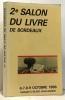 2e salon du livre de Bordeaux - 6-7-8-9 octobre 1988. Collectif