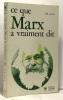 Ce que Marx a vraiment dit. Acton H.B