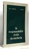 La responsabilité civile du médecin (avec hommage de l'auteur). Mélennec - Sicard