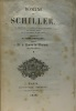 Romans de Schiller Tomer premier - le visionnaire  les mamours généreux  le criminel  par honneur perdu    le jeu du destin  le duc d'Albe  traduction ...