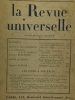 La revue universelle - tome IX N°3 mai 1922 + tome VIII mars 1922 + tome XXIII décembre 1925. Bainville Jacques