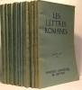Les lettres romanes - 15 numéros: Tome X N°1-2-3 (1956) - Tome XII N°1-2-3-4 (1958) - Tome XIII N°1-2-3-4 (1959 ) - Tome XIV N°2-4 (1960) - Tome XV ...