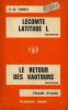 Lecomte latitude L; le retour des vautours. Ribes F.-H.  Evans Frank