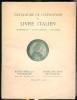 Catalogue des manuscrits - livres imprimés - reliures.. Exposition du livre italien mai-juin 1926.