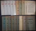 Le Bateau Ivre - Bulletin des Amis de Rimbaud. Nouvelle série N°1 à 20 (complète).. [RIMBAUD (Arthur)] - Amis de Rimbaud.