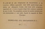 Le Malentendu, pièce en trois actes - Caligula, pièce en quatre actes.. [Cartonnage NRF - maquette de Mario Prassinos] - CAMUS (Albert).