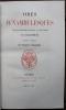 Odes Funambulesques, suivi de Odelettes, suivi de Pastiches critiques des Poètes contemporains par Lemercier de Neuville. . BANVILLE (Théodore de).
