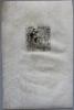 """Eau-forte originale sur parchemin, entête de chapitre du livre """"Les Caves du Vatican"""" de André Gide.. --Epreuve unique sur Parchemin-- LABOUREUR ..."""