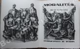 Moralités de La Fontaine. Lithographies de Berdon.. [BERDON (Maurice)] - LA FONTAINE (Jean de).
