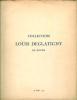 Aquarelles, dessins, goauches, pastels, tableaux anciens & très belles gravures de la collection de Louis Glatigny de Rouen.Vente du 28 mai 1937.. ...