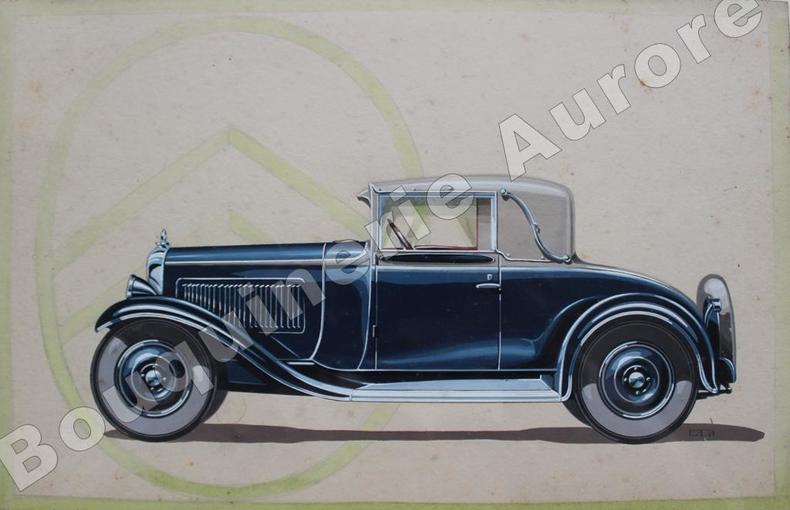 CITROËN C4F Cabriolet décapotable 2 places.. [Automobile] - Projet Publicitaire.