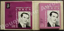 Poètes d'aujourd'hui 7 - Federico Garcia Lorca.Livre + disque dans une chemise cartonnée commune.. [GARCIA LORCA (Federico)] - PARROT (Louis) - ...