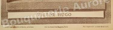 Portrait photographique de Victor HUGO, cliché de Bertall.. [HUGO (Victor)] - BERTALL - Galerie Contemporaine.
