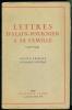 Lettres d'Alain-Fournier à sa famille (1905 - 1914).Avant-propos d'Isabelle Rivière.. ALAIN-FOURNIER.