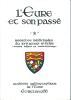 """L'Eure et son passé.2 - Recettes médicinales du XVIe au XIXe siècles """"textes inédits et transcriptions"""". Académie Paléographique de l'Eure."""