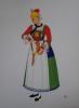 Costumes Nationaux. Autriche - Hongrie - Pologne - Tchécoslovaquie.. [LEPAGE-MEDVEY (E.)] - VARAGNAC (André).