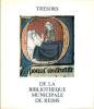 Trésors de la Bibliothèque Municipale de Reims.. LEMPS (Michel de) & LASLIER (Roger).