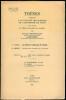 Les Fusarium et Cylindrocarpon de l'Indochine. Propositions données par la Faculté.. BUGNICOURT (Francis).