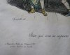 """Les Métamorphoses du Jour. Planche No. 46. """"Pour qui sont ces serpents qui sifflent sur ma tête (Andromaque). """". . GRANDVILLE (Jean-Ignace-Isidore ..."""