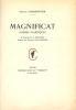 Magnificat. Poèmes plastiques.. [BOUCHET (A.)] - CHARPENTIER (Octave).